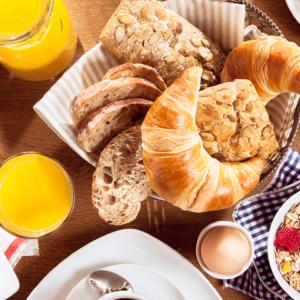 Vroege vogel ontbijt